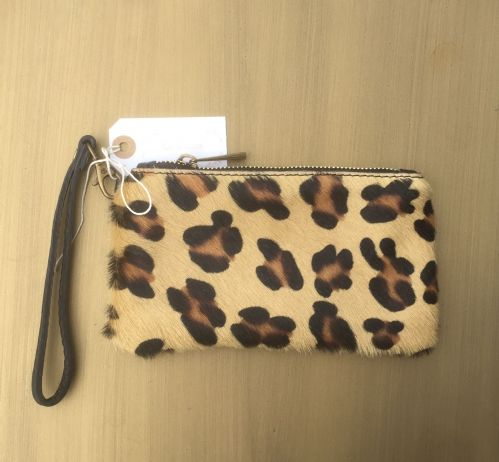 Leather Animal Print Purse/Wallets